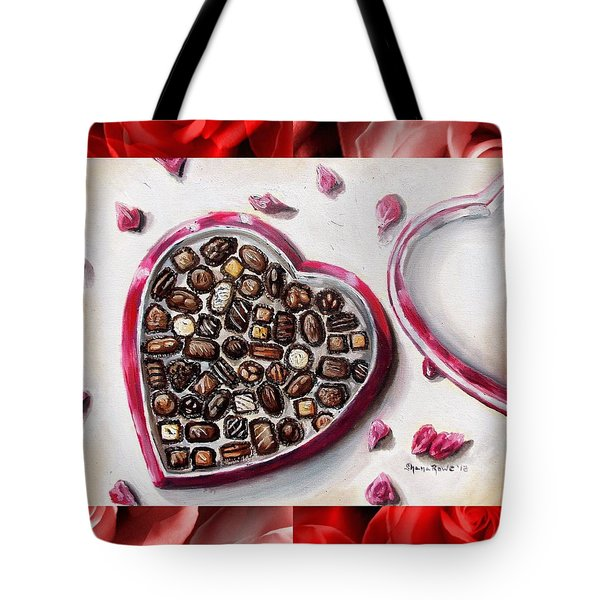 Be My Valentine Tote Bag by Shana Rowe Jackson