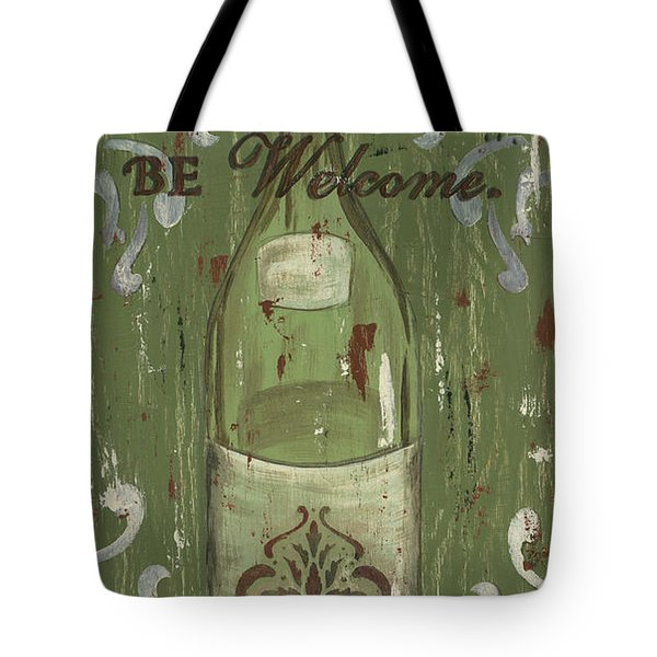 Be Our Guest Tote Bag by Debbie DeWitt