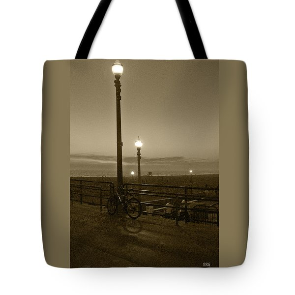 Beach At Night Tote Bag by Ben and Raisa Gertsberg