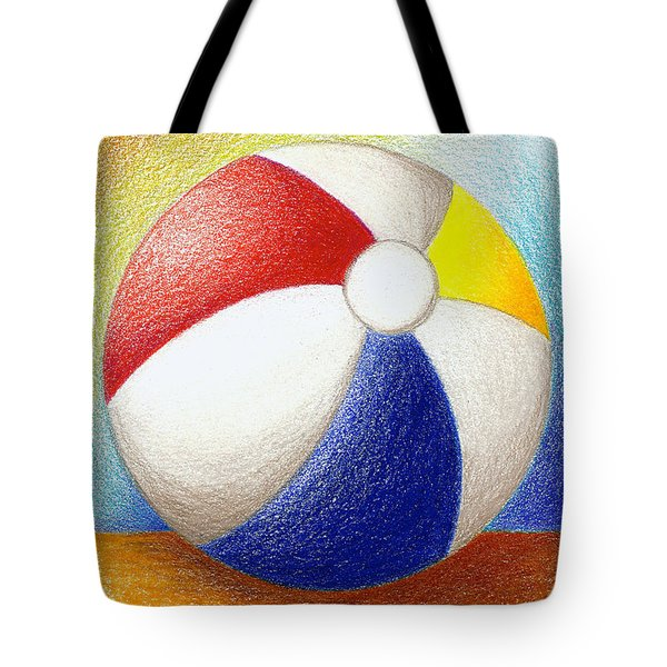 Beach Ball Tote Bag by Stephanie Troxell