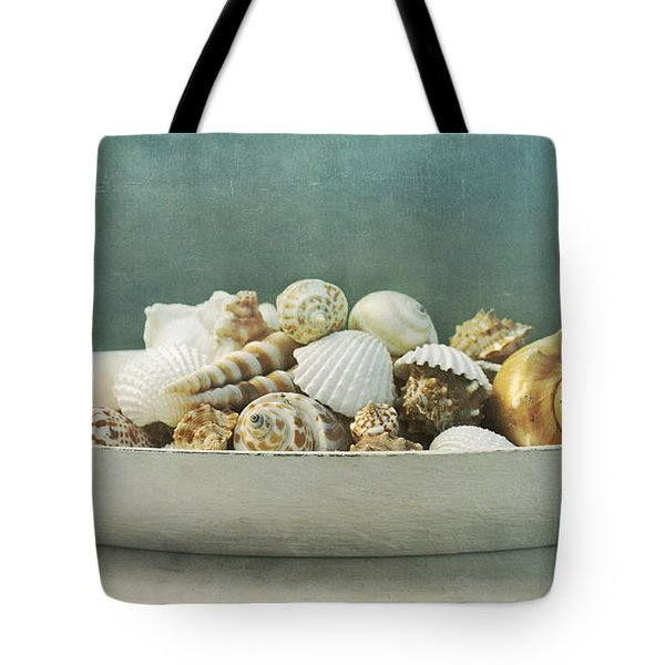 beach in a bowl Tote Bag by Priska Wettstein