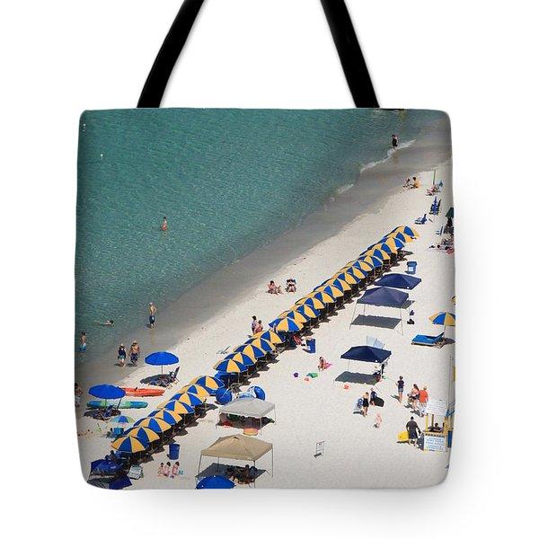 Beach Life  Tote Bag by Jennifer E Doll