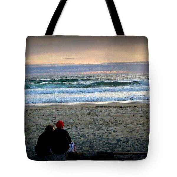 Beach Lovers Tote Bag by Susan Garren