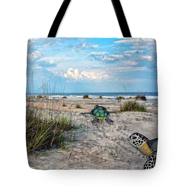 Beach Pals Tote Bag by Betsy C  Knapp