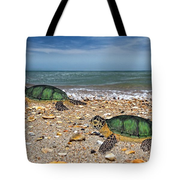 Beach Pals II Tote Bag by Betsy A  Cutler