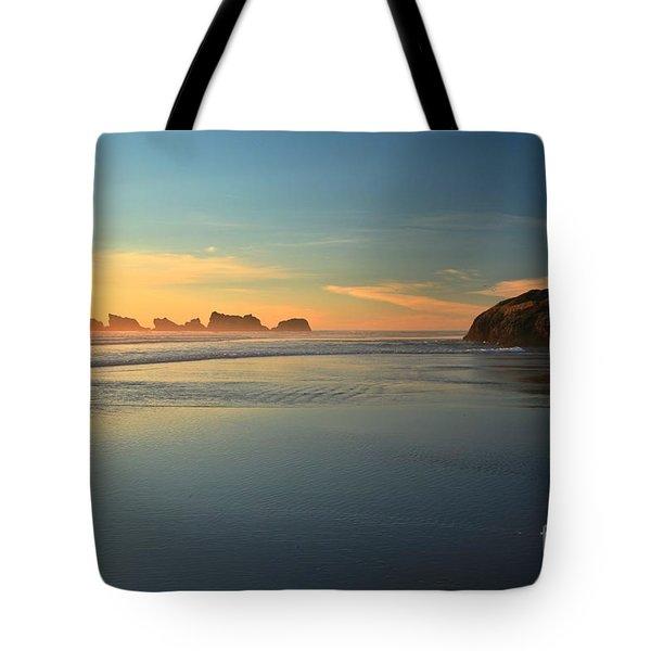 Beach Rudder Tote Bag by Adam Jewell
