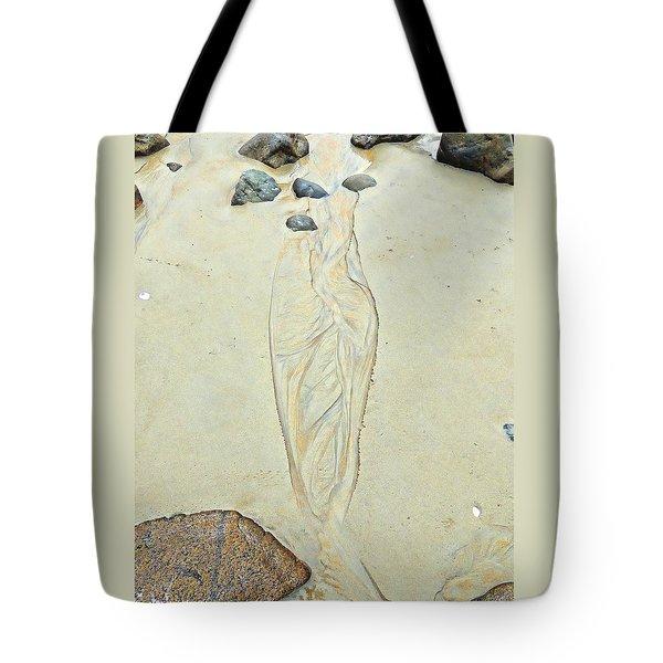 Beach Sand 4   Tote Bag by Marcia Lee Jones