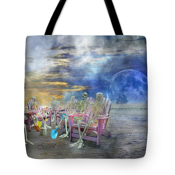 Beach-side Vigil Tote Bag by Betsy A  Cutler