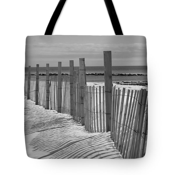Beach Snow  Tote Bag by Catherine Reusch  Daley