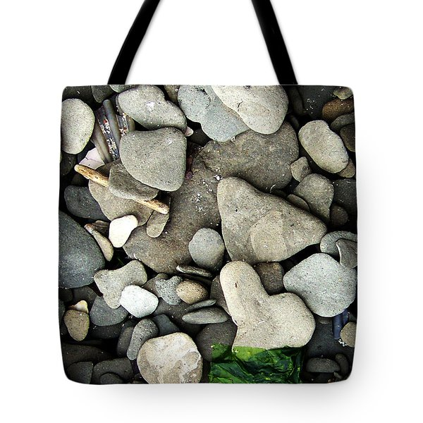 Beach Valentine Tote Bag by Rebecca Sherman