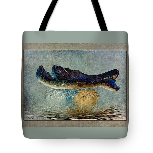 Beached Whale II Tote Bag by WB Johnston