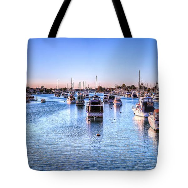 Beacon Bay Tote Bag by Jim Carrell
