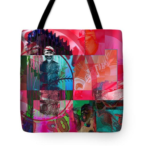 Bean Town Tote Bag by Jimi Bush