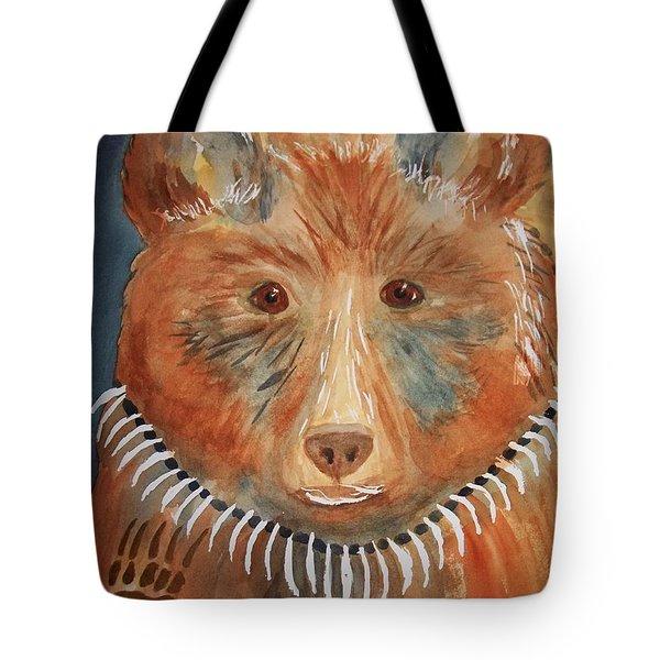 Bear Medicine Tote Bag by Ellen Levinson
