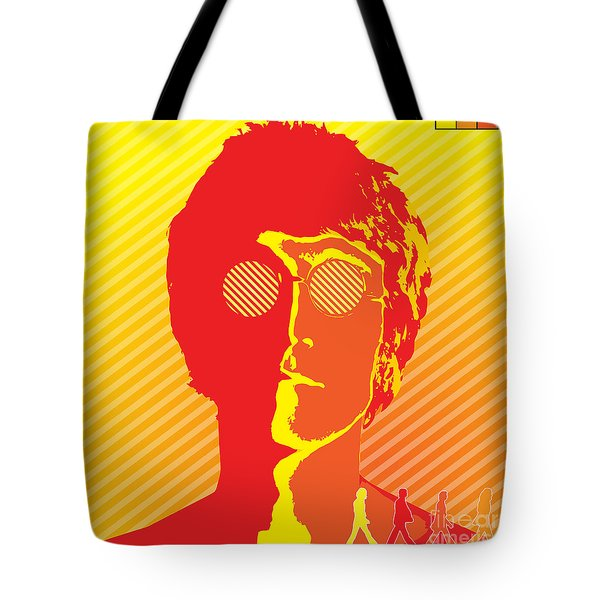 Beatles Vinil Cover Colors Project No.03 Tote Bag by Caio Caldas