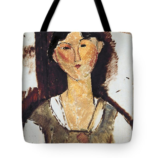 Beatrice Hastings Tote Bag by Amedeo Modigliani