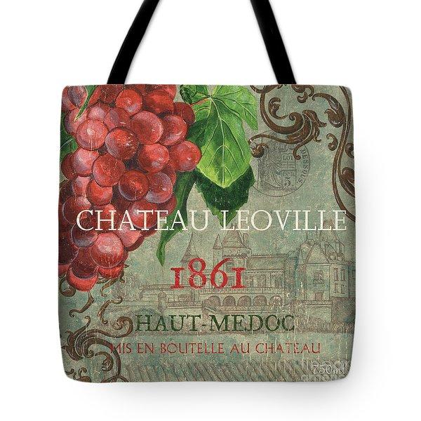 Beaujolais Nouveau 1 Tote Bag by Debbie DeWitt