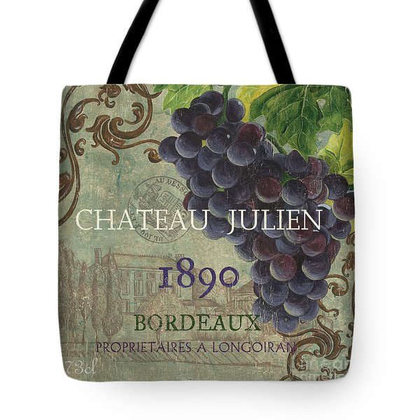 Beaujolais Nouveau 2 Tote Bag by Debbie DeWitt