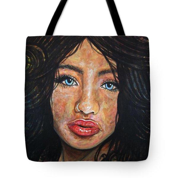 Beautiful Ambiguity Tote Bag by Malinda  Prudhomme