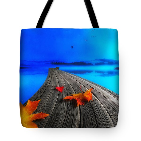 Beautiful Autumn Morning Tote Bag by Veikko Suikkanen