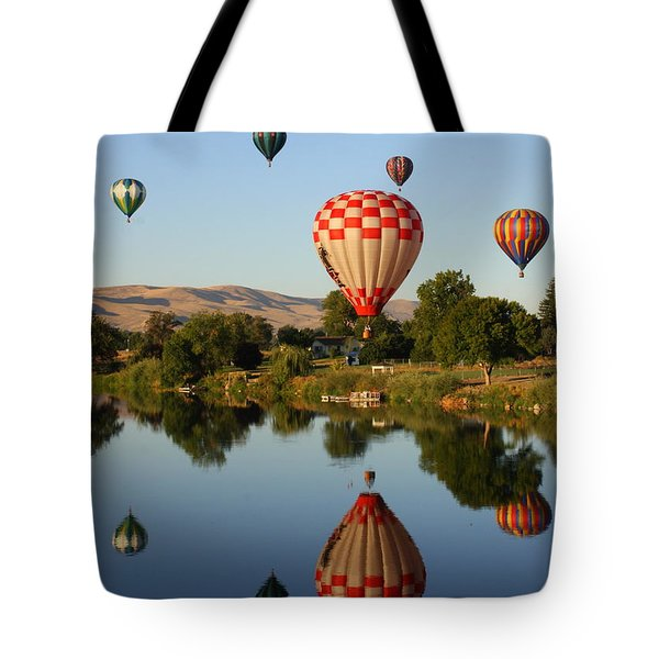Beautiful Balloon Day Tote Bag by Carol Groenen