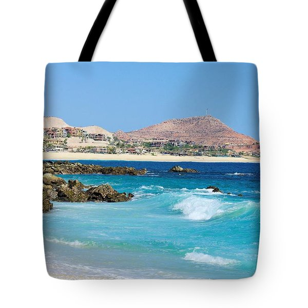 Beautiful Beach On The Sea Of Cortez Tote Bag by John  Greaves