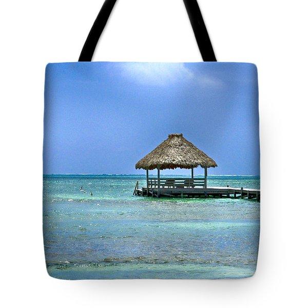 Beautiful Belize Tote Bag by Kristina Deane