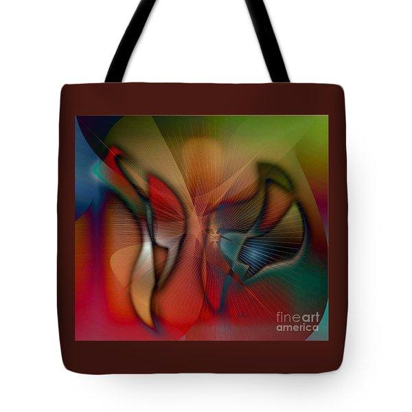 Beautiful Catch Tote Bag by Iris Gelbart