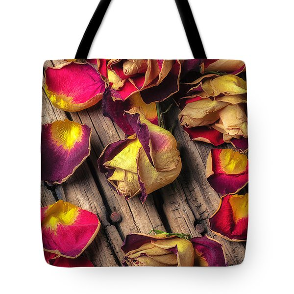 Beautiful Decay Tote Bag by Garry Gay