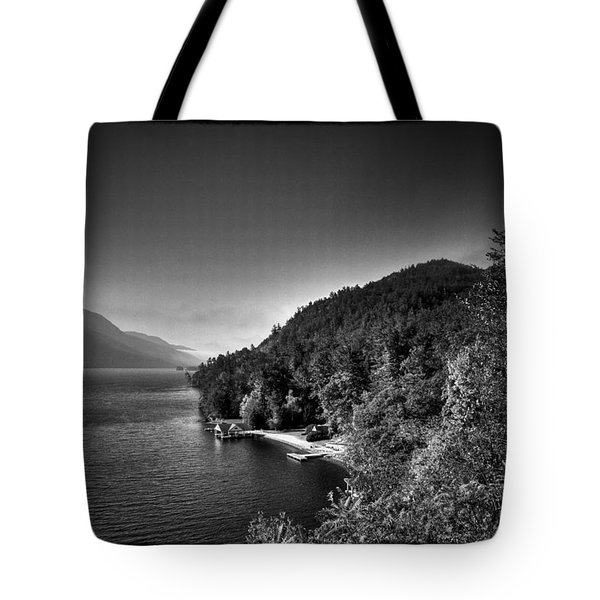 Beautiful Lake George Tote Bag by David Patterson