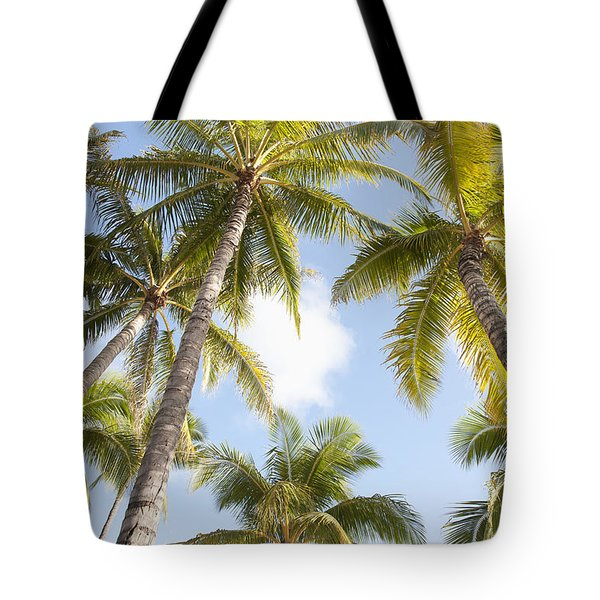 Beautiful Palms Tote Bag by Brandon Tabiolo