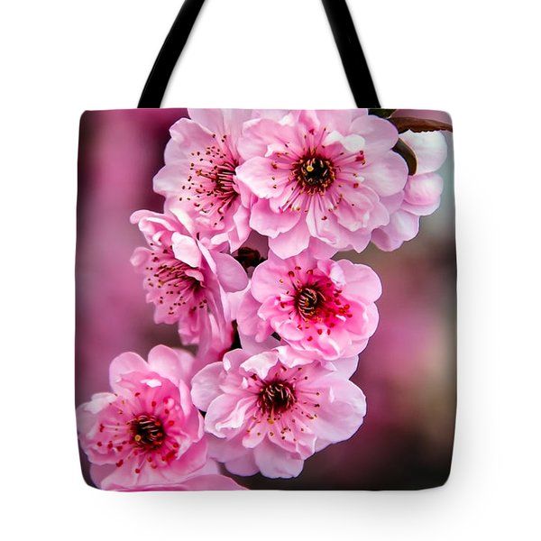 Beautiful Pink Blossoms Tote Bag by Robert Bales