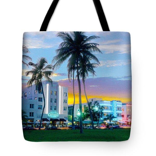Beautiful South Beach Tote Bag by Jon Neidert