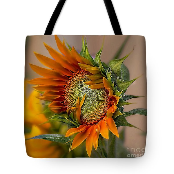 Beautiful Sunflower Tote Bag by John  Kolenberg