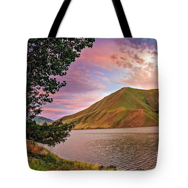 Beautiful Sunrise Tote Bag by Robert Bales