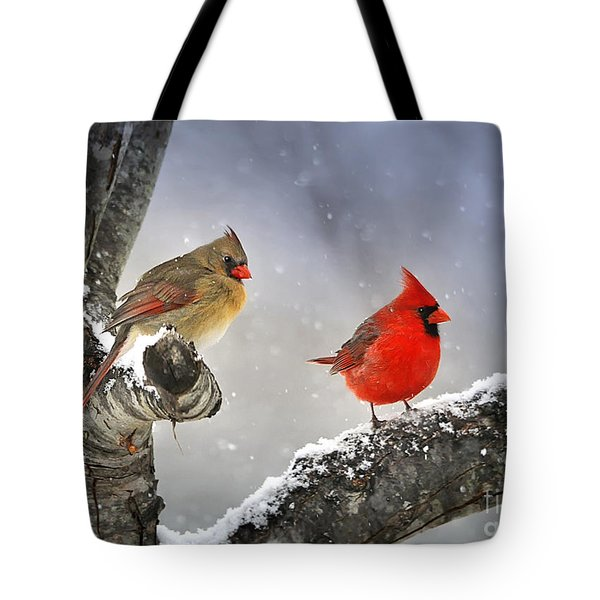 Beautiful Together Tote Bag by Nava Thompson