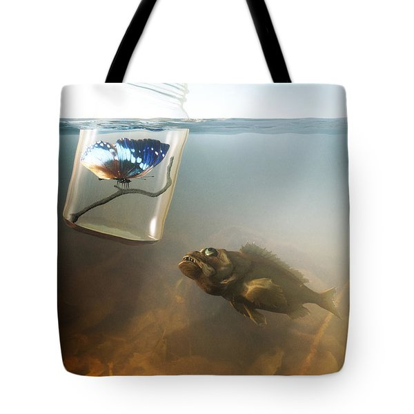 Beauty And The Beast Tote Bag by Cynthia Decker