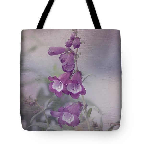 Beauty in Purple Tote Bag by Kim Hojnacki