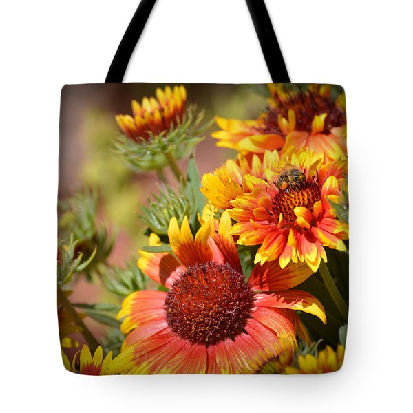 Beauty In The Garden Tote Bag by Lynn Bauer