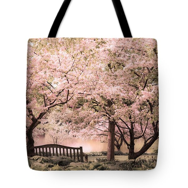 Beauty Of A Spring Garden Tote Bag by Julie Palencia