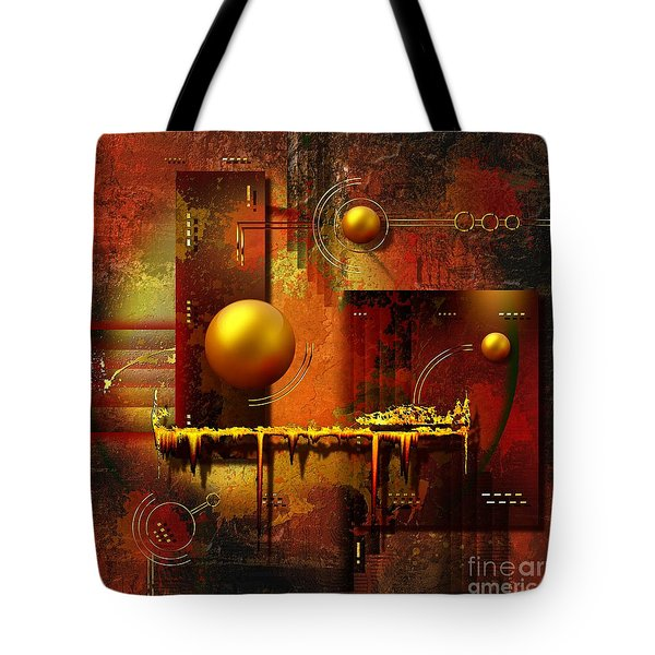 Beauty Of An Illusion Tote Bag by Franziskus Pfleghart