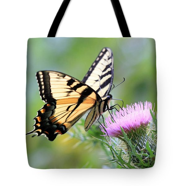 Beauty On Wings Tote Bag by Geoff Crego