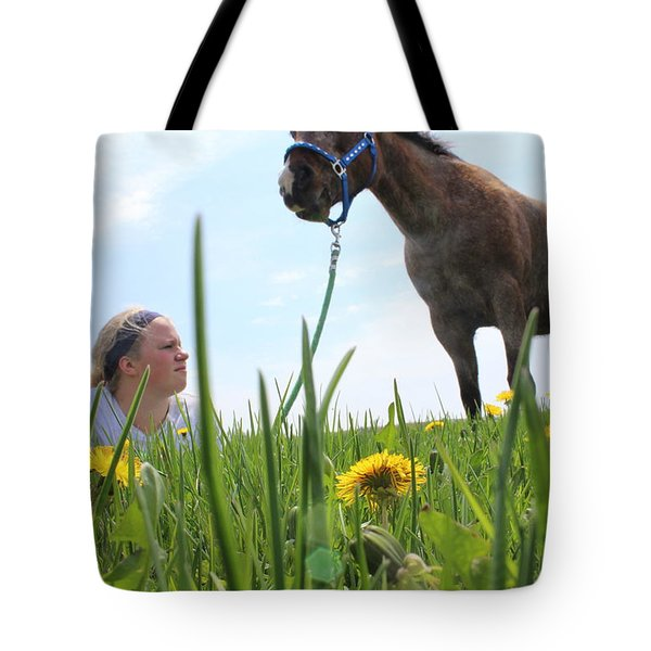 Beauty Tote Bag by Tiffany Erdman