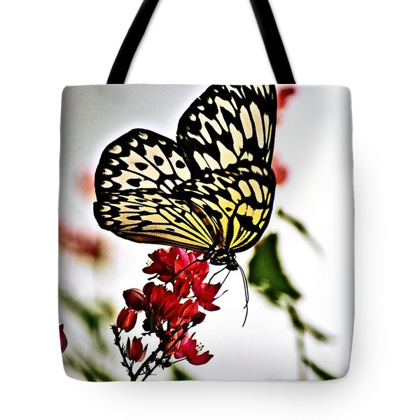 Beauty Wing Tote Bag by Marty Koch
