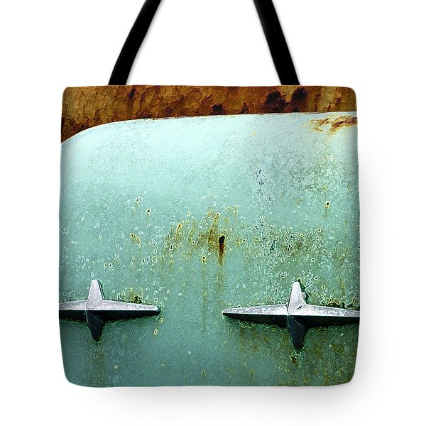 Beauty With Age Tote Bag by Jean Noren