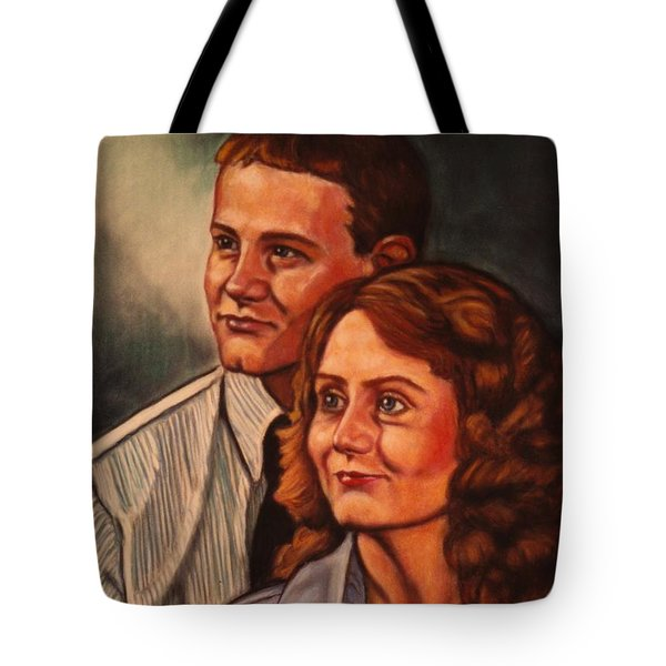 Becky And Ron Yearout Tote Bag by Kendall Kessler