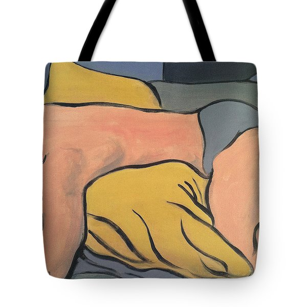 Bedscape One Am Tote Bag by Stan  Magnan