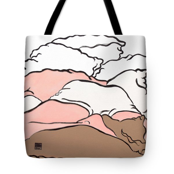 Bedscape Two Am Tote Bag by Stan  Magnan