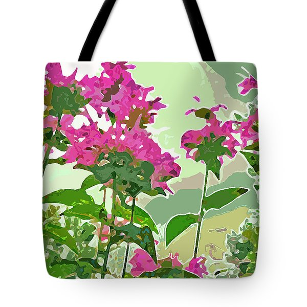 Bee Balm Tote Bag by Jean Hall