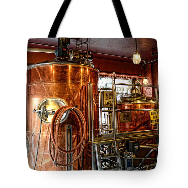 Beer - The Brew Kettle Tote Bag by Paul Ward